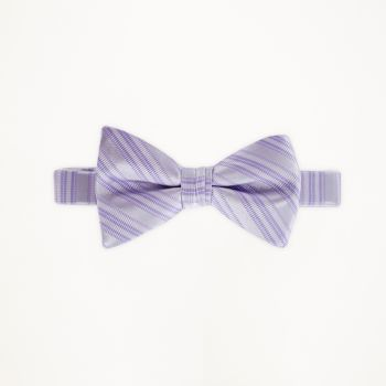 Violetta Striped Bow Tie