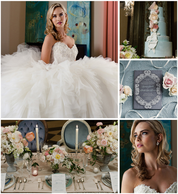 Cinderella Inspired Wedding Photo Shoot
