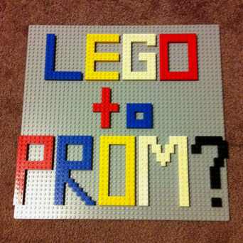 Friar tux, friar tux celebrations, prom, ask someone to prom, promposal, school dance, legos
