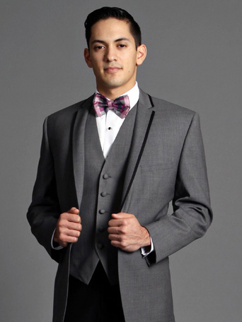 Grey Kristoff Photo Shoot, grey tuxedo, friar tux prom