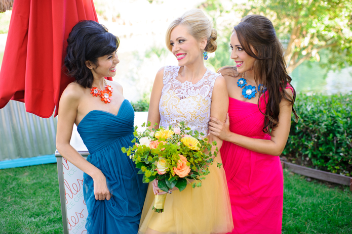 Bright & Bold Summer Wedding