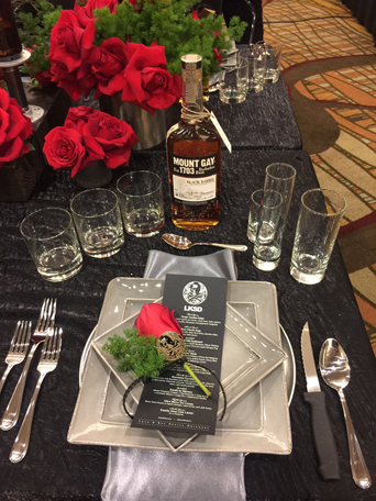 Anaheim Ducks, Dux in Tux 2015, charity event, dress to impress, chef, orange county dining, hockey, sports, Anaheim ducks foundation, Anaheim Hilton, red roses menu
