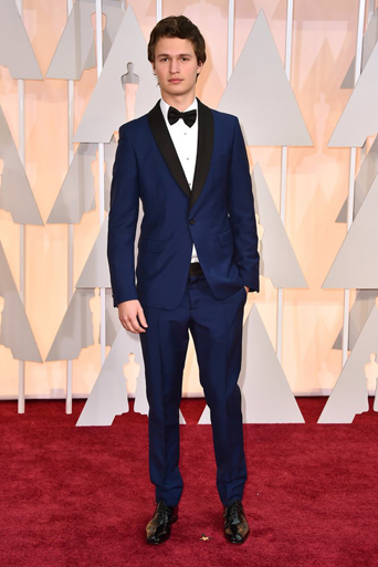 The academy award, academy awards, academy award 2015, academy awards 2015, Oscars, Oscar, Oscars 2015, Oscar 2015, 87th academy award show, the Oscars 2015, academy awards best tuxedo style, best dressed of the academy awards, best dressed of the Oscars, best dressed men at the 2015 academy awards, film award show, cinematic award show, celebrity tuxedo, red carpet, red carpet ready, different tuxedo styles, unique tuxedo styles, tuxedo styles 2015, tuxedo trends, new tuxedo styles 2015, tuxedo advice, popular tuxedo styles, best looking tuxedo, Hollywood, Hollywood styles, celebrity styles, black tie event, formal, award show, celebrity inspired tuxedo, best looking tuxedo, ansel elgort navy tuxedo midnight blue tuxedo, navy tuxedo, blue tuxedo, james bond inspired tuxedo, shawl lapel, blue is the new black
