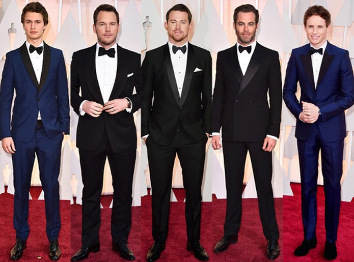2015 Academy Awards Men's Fashion