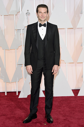 The academy award, academy awards, academy award 2015, academy awards 2015, Oscars, Oscar, Oscars 2015, Oscar 2015, 87th academy award show, the Oscars 2015, academy awards best tuxedo style, best dressed of the academy awards, best dressed of the Oscars, best dressed men at the 2015 academy awards, film award show, cinematic award show, celebrity tuxedo, red carpet, red carpet ready, different tuxedo styles, unique tuxedo styles, tuxedo styles 2015, tuxedo trends, new tuxedo styles 2015, tuxedo advice, popular tuxedo styles, best looking tuxedo, Hollywood, Hollywood styles, celebrity styles, black tie event, formal, award show, celebrity inspired tuxedo, best looking tuxedo, 87th Annual Academy Awards - Arrivals, bradley cooper wide peak lapel black tuxedo, black tuxedo, clean cut, wide peak lapel, peak lapel tuxedo