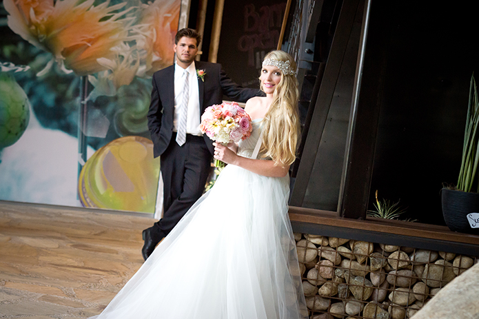 Green Acre San Diego Wedding Bridal Ballgown and Black Valencia Suit Reception, San Diego Wedding, organic wedding catering, equinox photo, Green Acre wedding style, friar tux shop