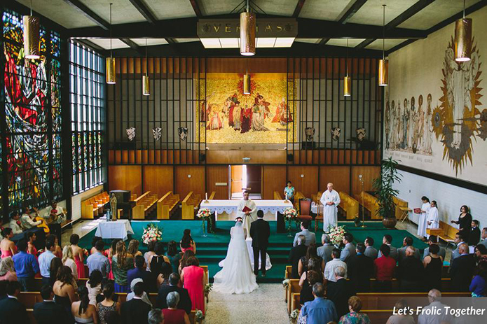 St. Catherines Church Orange County Wedding Ceremony
