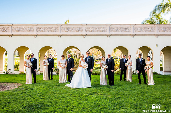 The Most Perfect Gold Wedding Ever!