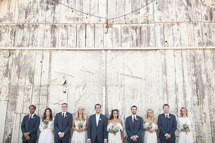 Bohemian Styled Central Coast Barn Wedding