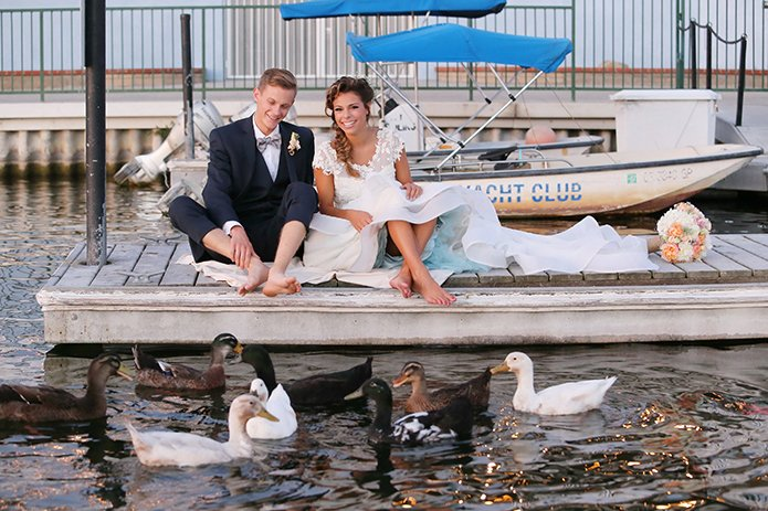 Westlake Yacht Club Wedding