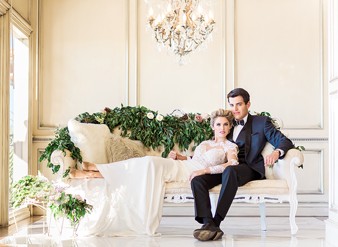 Winter Wedding at a Newport Beach Private Estate