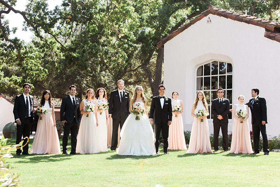 Spanish Quail Ranch Wedding with Copper Decor