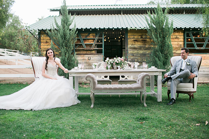 Fairytale Inspired Wedding at Two Sisters Farms