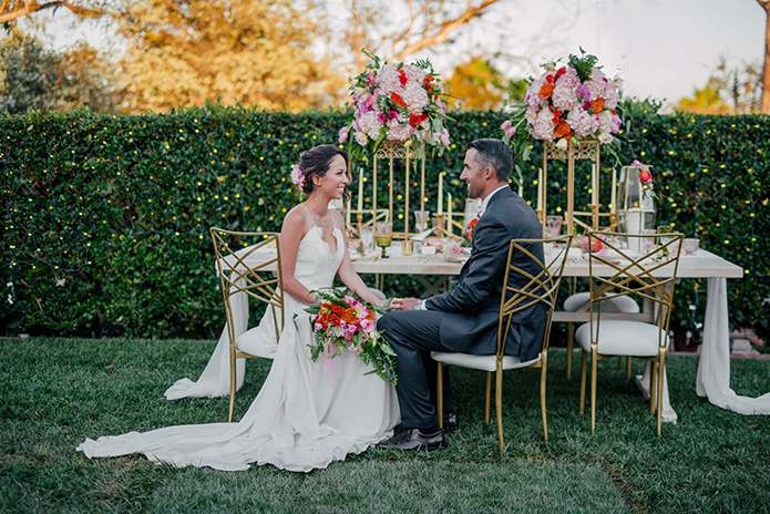 Lavish Garden Wedding: The Inn at Rancho Santa Fe