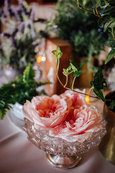 Big red barn styled wedding shoot blush pink peonies flower decor on table