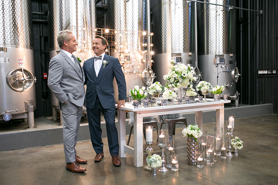 Vintage-Industrial Wedding at Wiens Family Cellars