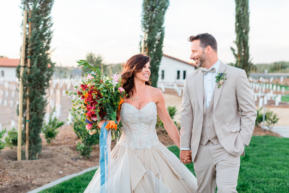 Artistic Vineyard Wedding in Temecula