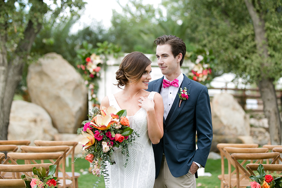Preppy, Colorful Summer Wedding at Galway Downs