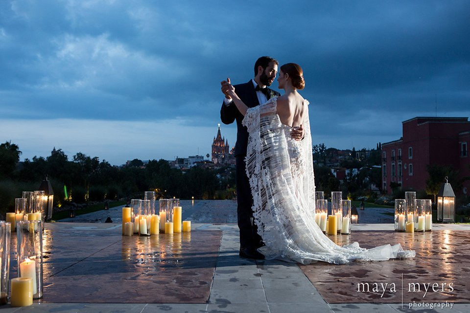 Romantic San Miguel Mexico Wedding
