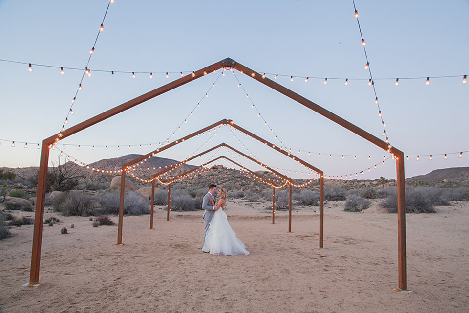 The Ruin Venue Desert Wedding