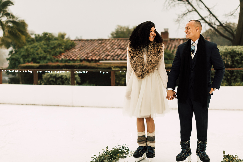 Inn at Rancho Santa Fe Winter Inspired Wedding