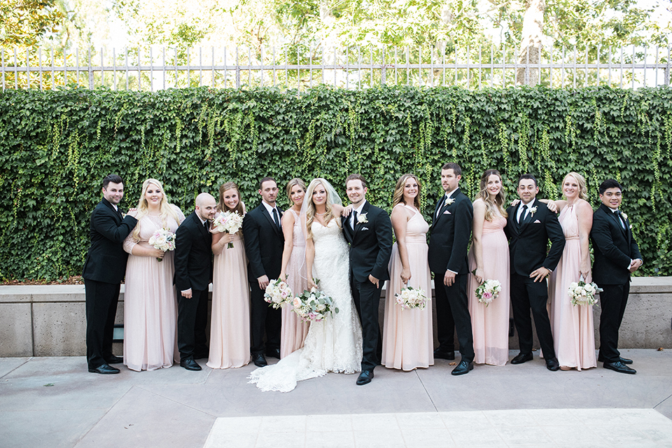 Classic Garden Wedding with Gold Accents