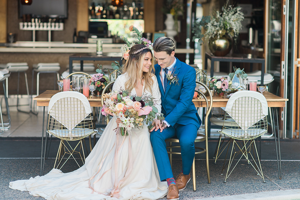 Fun Retro Style Wedding at The Pearl Hotel