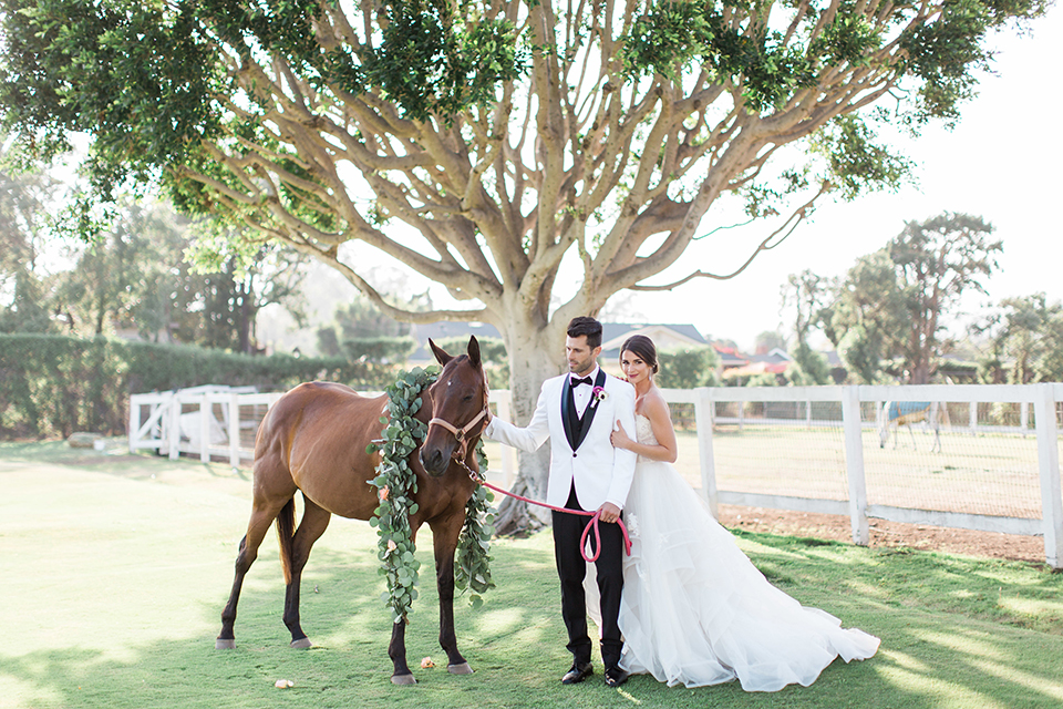 Hollywood Glam Wedding in Carpinteria