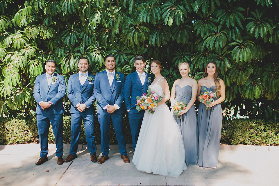 """Everything Blue"" Chic Garden Wedding"