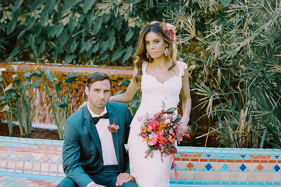 Olvera Street Wedding