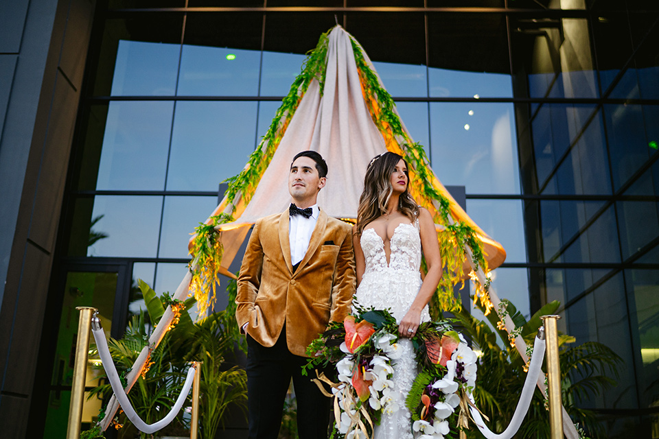 Trendy + Tropical Wedding