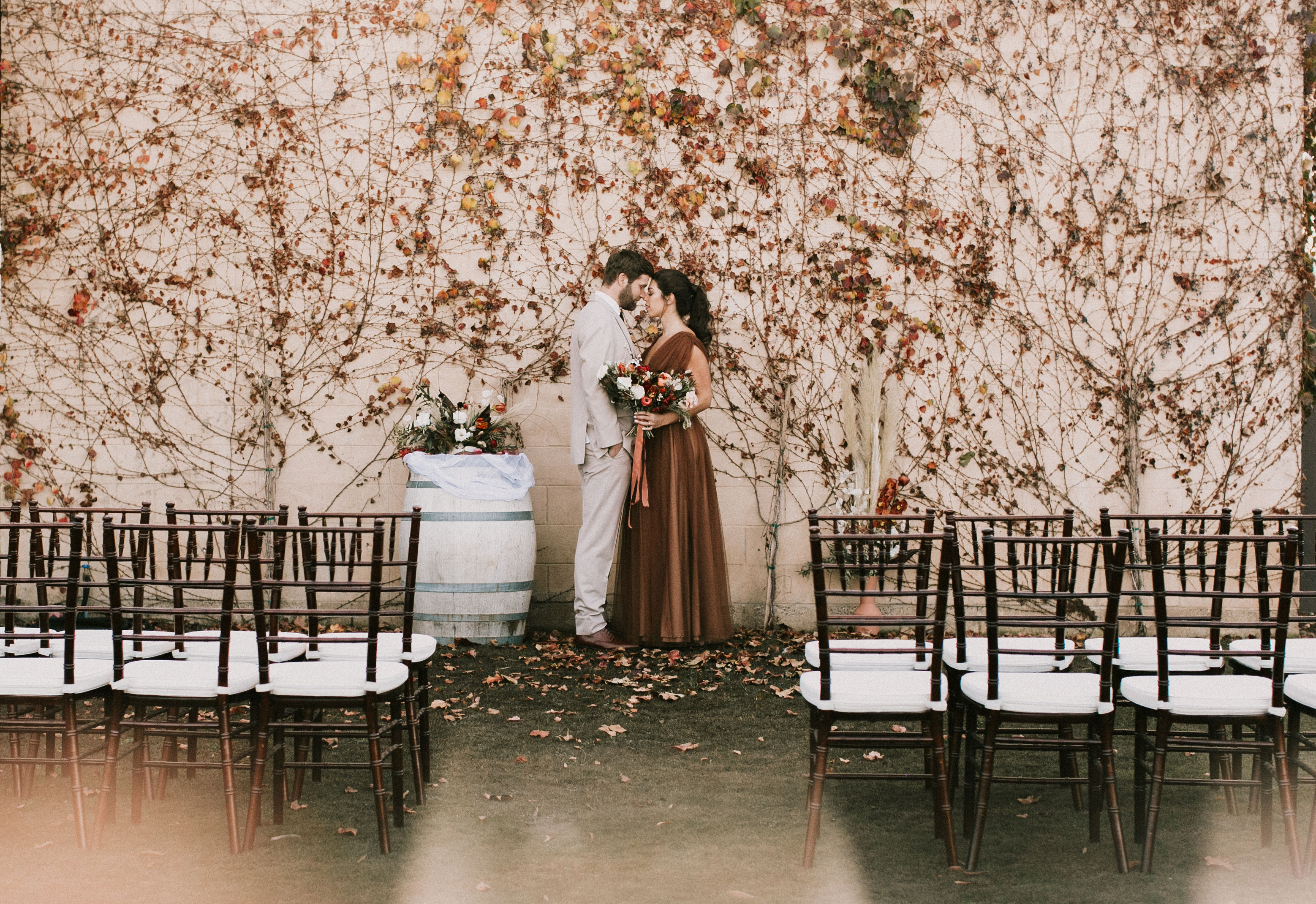 Everything You Love About Autumn in a Wedding