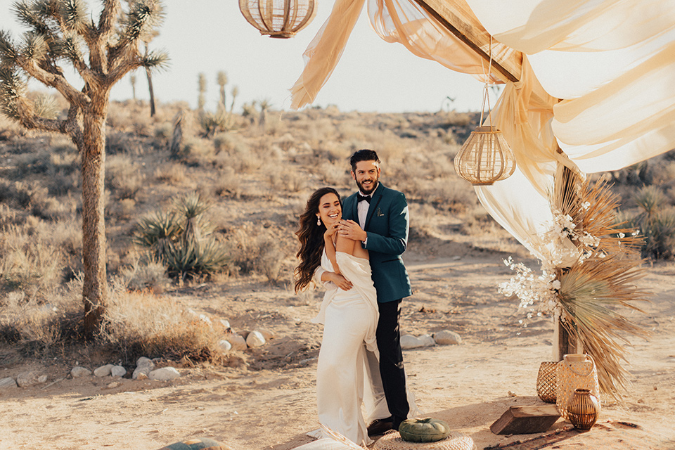 Dreamy Boho Desert Wedding