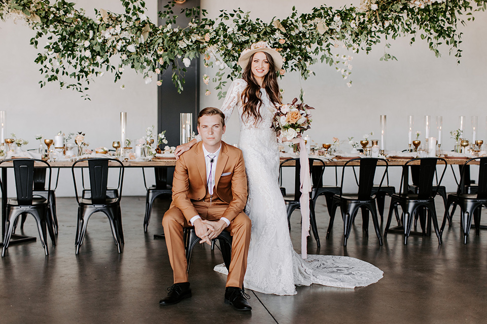 Industrial Boho Wedding at a Unique Venue