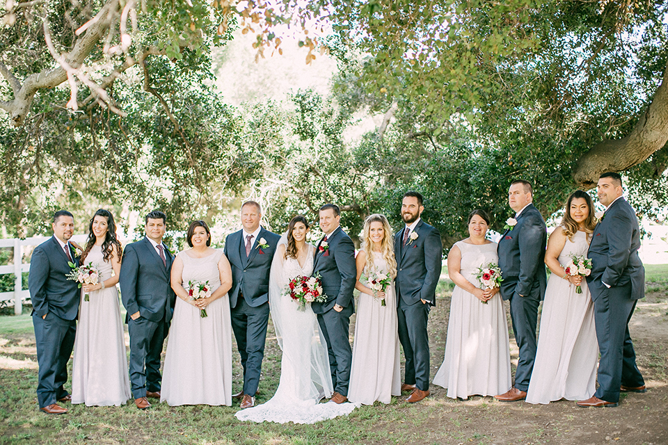 Navy Blue Rustic Ranch Wedding