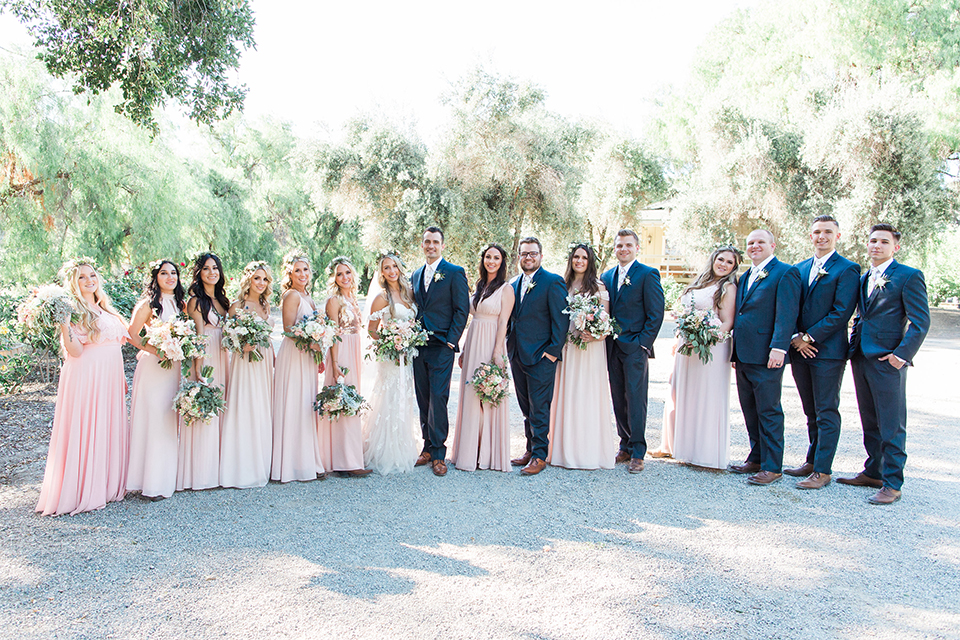 Neutral Palette Ranch Wedding Romance