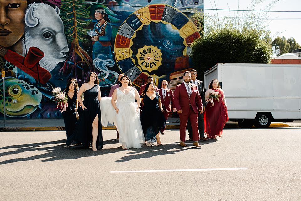 Stylish Wedding at LA's Trendy Millwick Venue