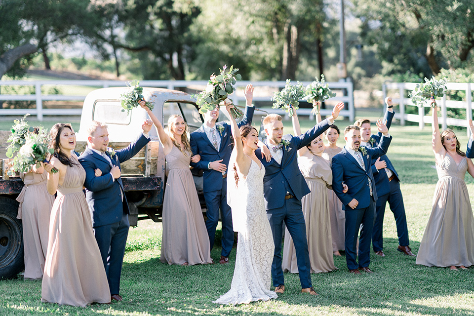 Organic Inspired Ranch Wedding