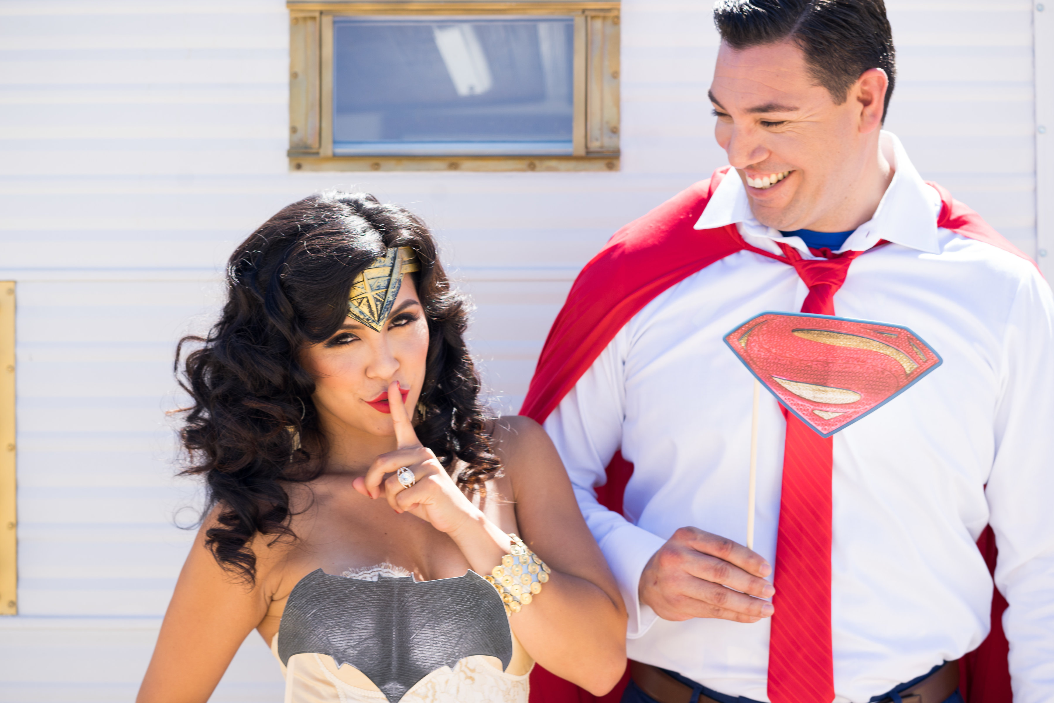 Wonder Woman and Superman Get Hitched!