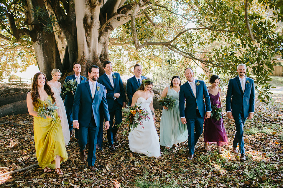Santa Barbara Botanical Themed Wedding