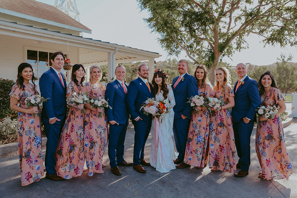 Bohemian Wedding with SoCal Fall Tones