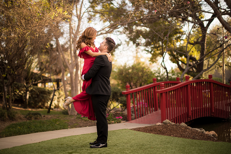 Dreamy Engagement Photos at the Langham Pasadena