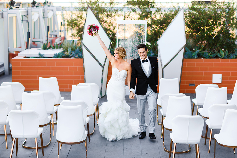 Modern Downtown Los Angeles Wedding
