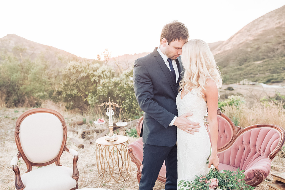 Malibu Mountains Romantic Ranch Wedding
