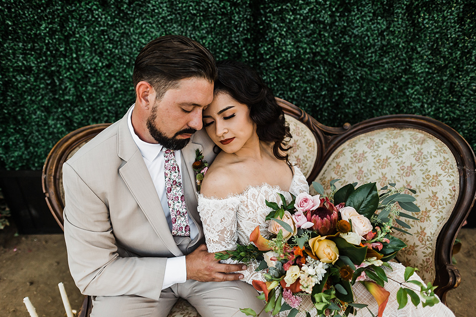 Spanish Style + Rose Inspired Wedding