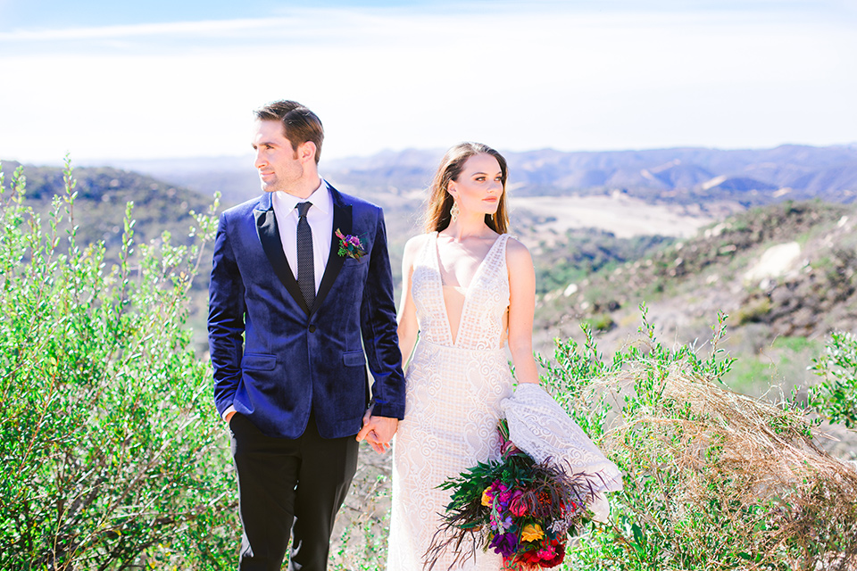Stunning Jewel Tone Ranch Wedding
