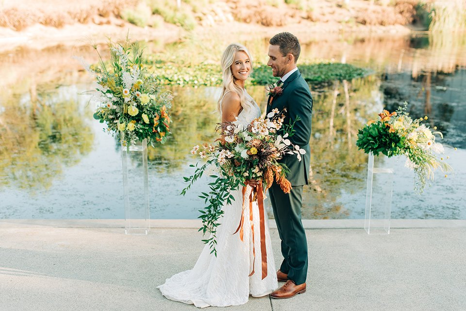 Fall Tones Boho Wedding