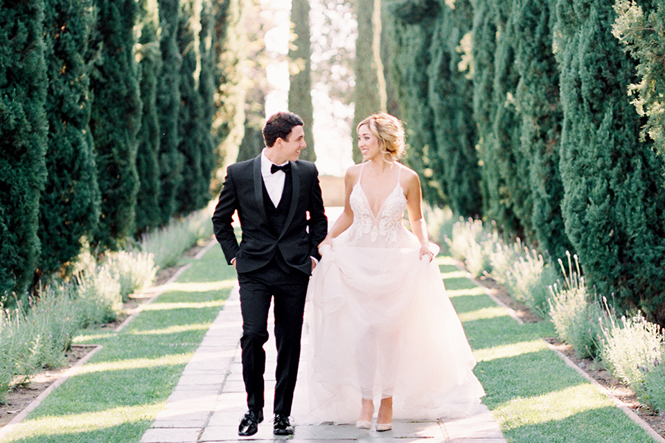 Classic Los Angeles Black Tie Wedding Inspo