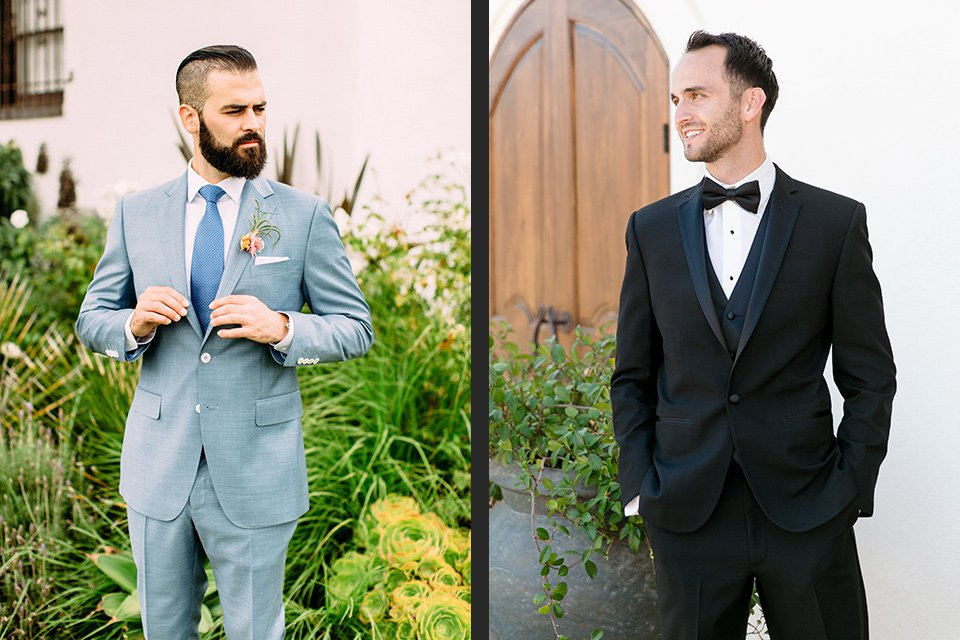 What's the Difference Between a Tuxedo vs. Suit?
