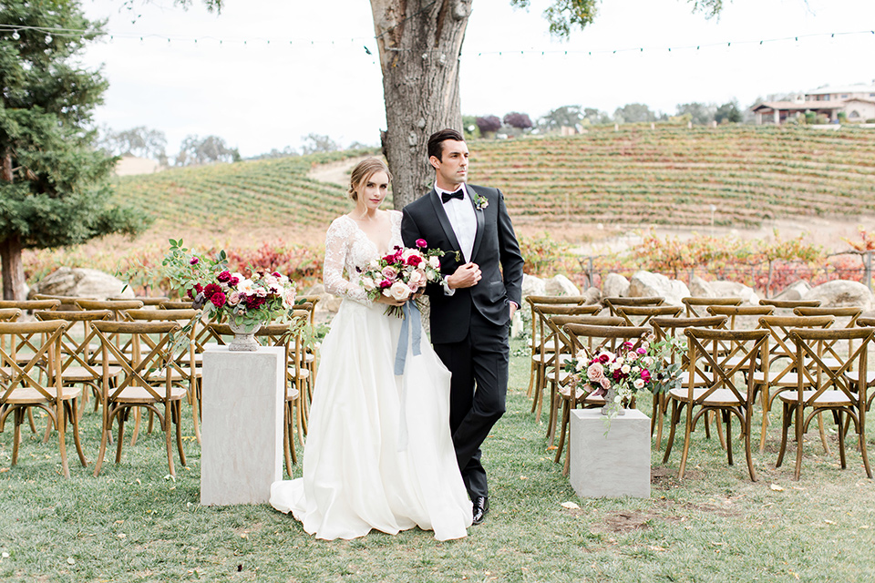 Vineyard Inspired Wedding Design
